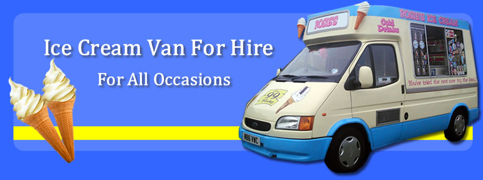 Carols Ice Cream Van Hire Kent